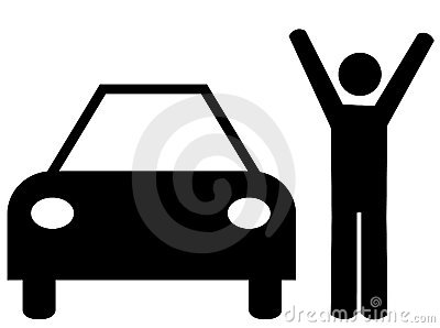 Celebrating a car purchase