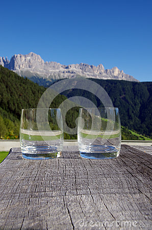 Celebrating the dolomites