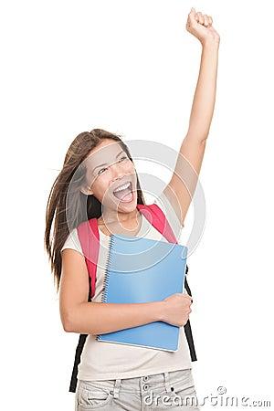 Celebrating student