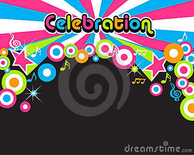 Celebration background