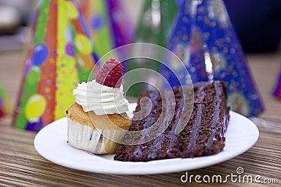 Celebration with cakes