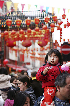 Celebration of Chinese New Year Editorial Image