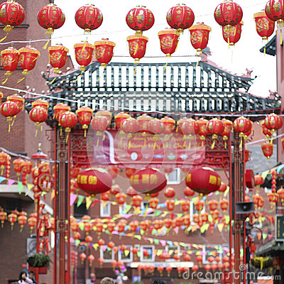 Celebration of Chinese New Year Editorial Stock Image