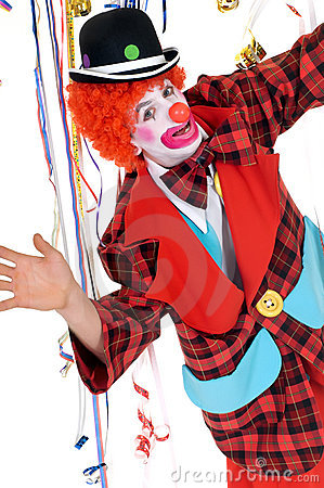 Celebration Clown Stock Photography - Image: 9348632
