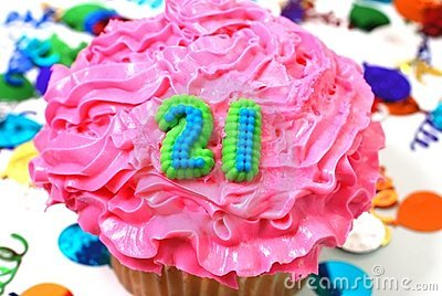 Celebration Cupcake - Number 21