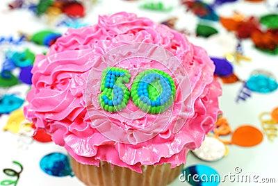 Celebration Cupcake - Number 50