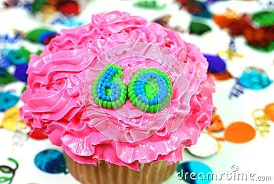 Celebration Cupcake - Number 60