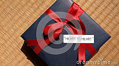 Celebration gift  heart-to-heart