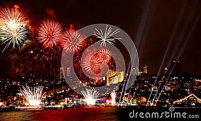 Celebration in Istanbul