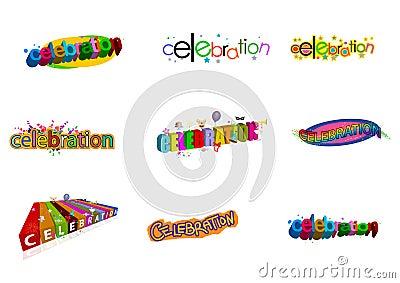 Celebration logos