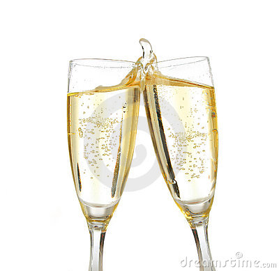 Free Celebration Toast With Champagne Royalty Free Stock Photography - 1485317
