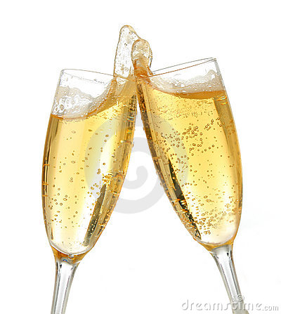 Free Celebration Toast With Champagne Stock Photography - 1485342