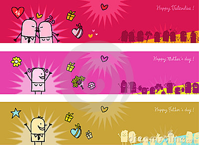 Celebrations banners