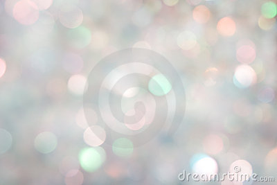 Celebratory background from a tinsel. defocused