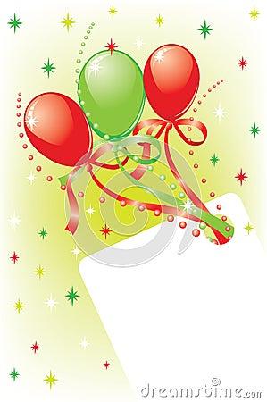 Celebratory card