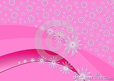 Celebratory pink card