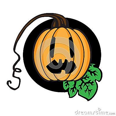 Celebratory pumpkin