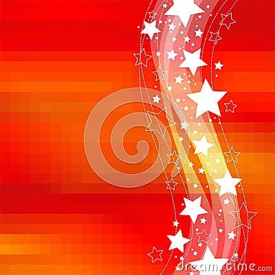 Celebratory stars