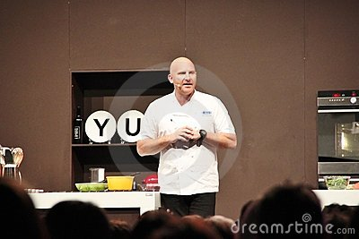 Celebrity Chef Matt Moran Editorial Stock Photo
