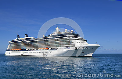 Celebrity Solstice Cruise Ship Editorial Stock Image