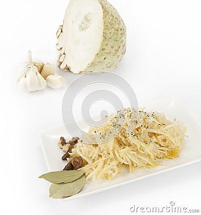 Celery dish