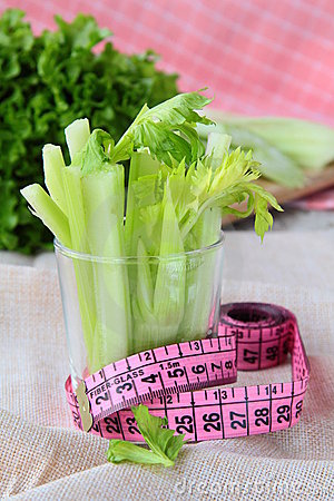 Celery measuring tape