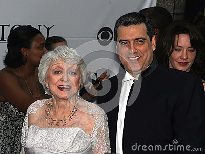 Celeste Holm and Frank Basile Editorial Stock Image
