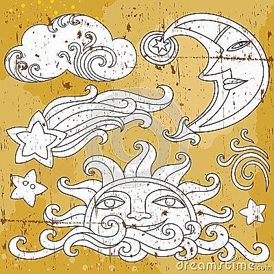 Celestial symbols 1