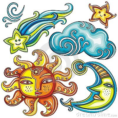 Celestial symbols 2