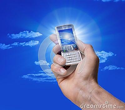 Cell Phone Camera Photo Hand