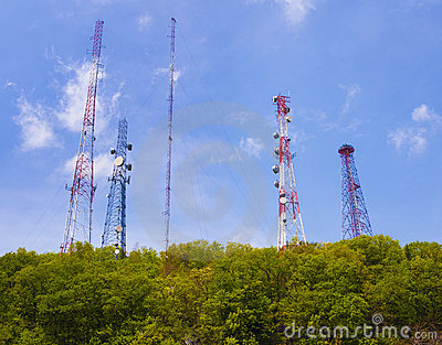 Cell phone and communication towers