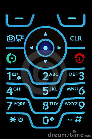 Free Cell Phone Keypad Royalty Free Stock Image - 2229246