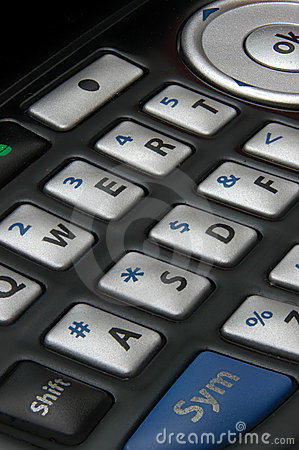 Free Cell Phone Keypad Stock Photography - 2578702