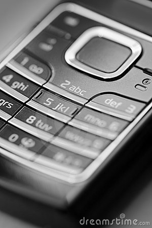 Free Cell Phone Keypad Royalty Free Stock Photography - 3835087