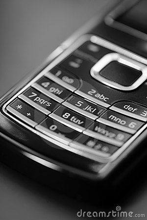 Free Cell Phone Keypad Royalty Free Stock Images - 3861769