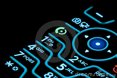 Cell Phone Keypad