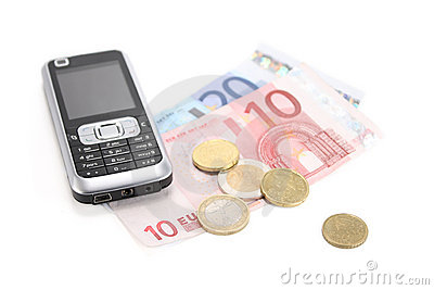 Cell phone and money