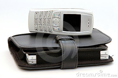 Cell phone with organizer 2