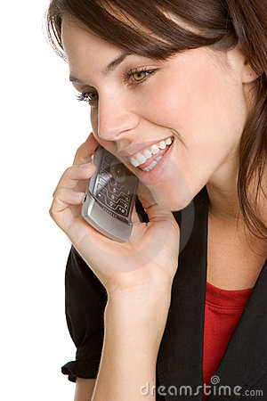 Free Cell Phone Woman Stock Photos - 3645643