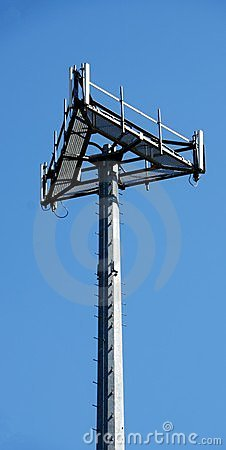 Cell Site Microwave Tower