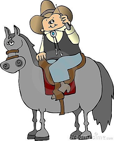 Cellphone Cowboy