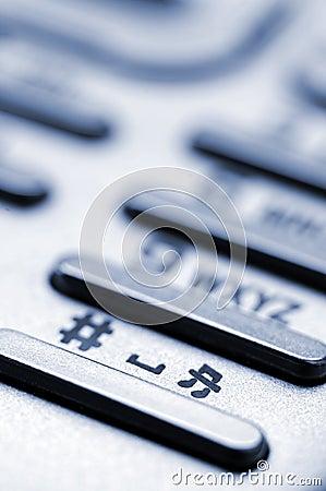 Cellphone keypad