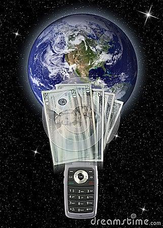 Cellphone money transfer