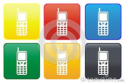 Cellphone web button