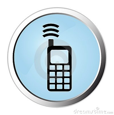 Cellphone web button