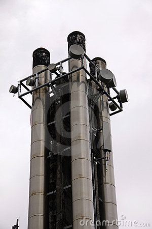 Cellular communications tower