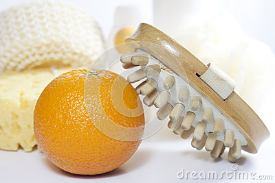 Cellulite comparison concept