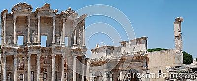 Celsius library in Efesus near Izmir