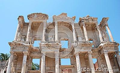 Celsius library in Efesus near Izmir, Turkey