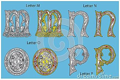 Celtic алфавита стародедовский